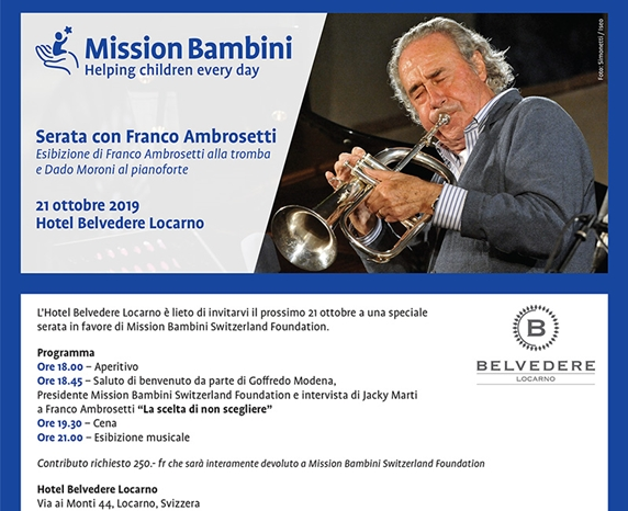 Mission Bambini Switzerland Foundation charity event
